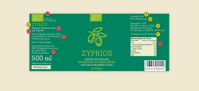 Olivenöl: Was steckt hinter den Informationen auf dem Etikett?
