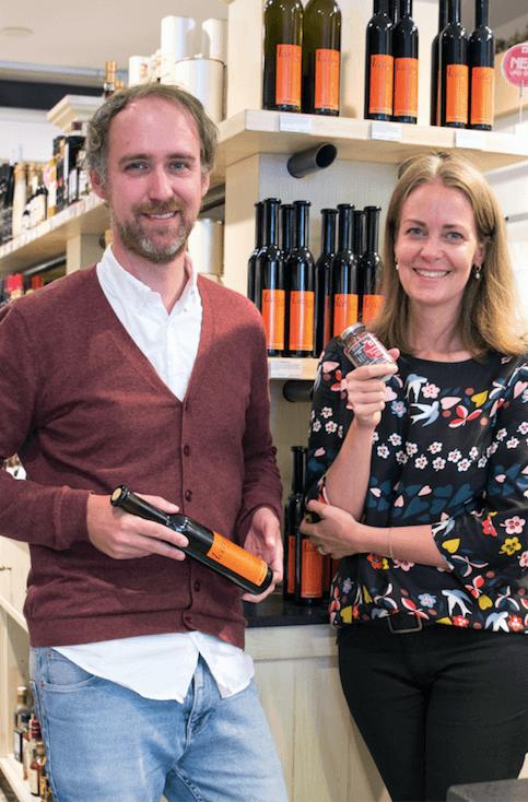 Andrea und Bastian - Inhaber der Essig & Öl Compagnie