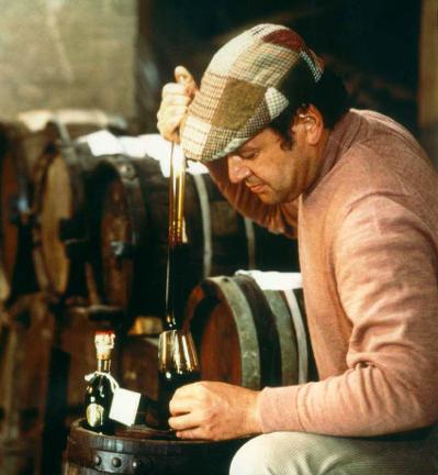 Giovanni Cavalli bei der Aceto Balsamico Tradizionale Produktion