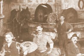 Vito Galantino Ölmühle 1926
